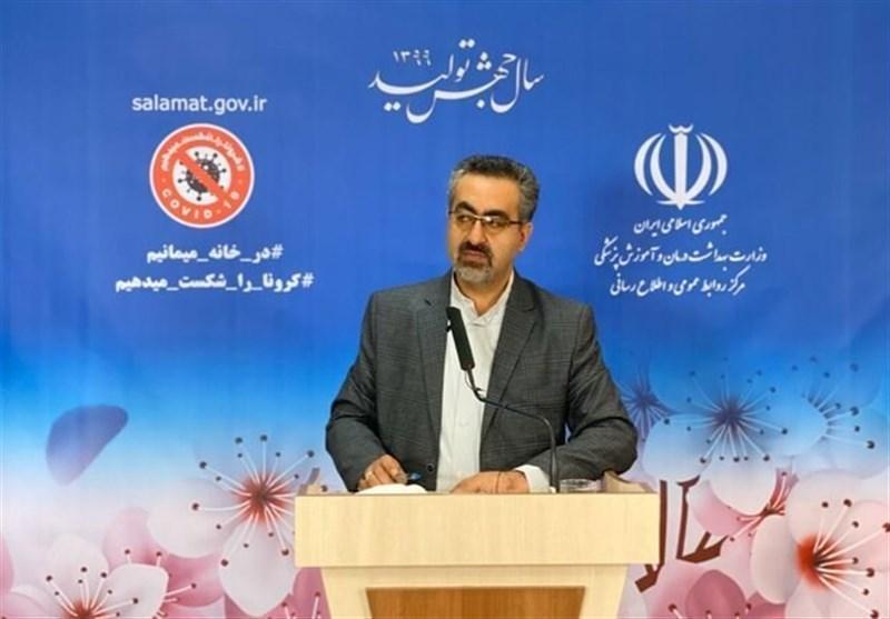شناسایی 2274 مبتلا به ویروس کرونا، شیب نزولی اما آرام بیماری در ایران