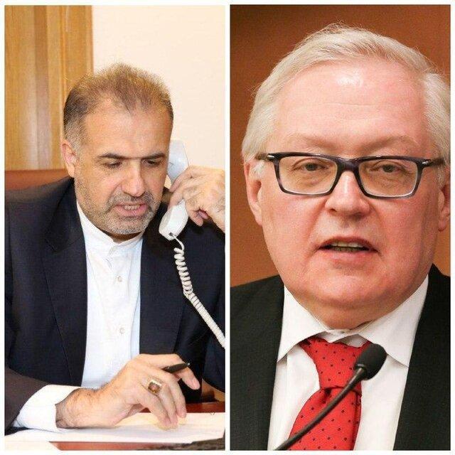 رایزنی تهران و مسکو در خصوص کوشش های غیرقانونی آمریکا برای تمدید تحریم های تسلیحاتی ایران