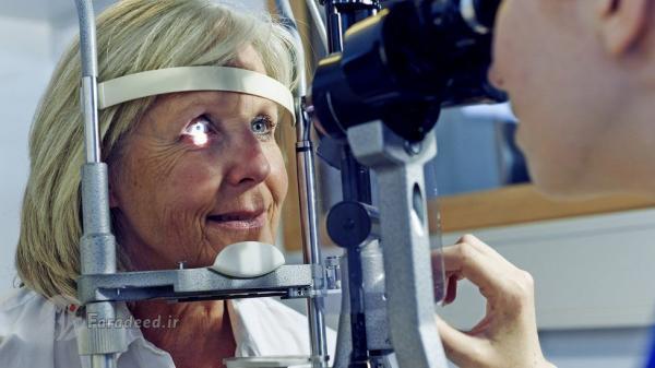 به خطر افتادن بینایی در دوران قرنطینه